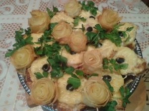 Kiaulienos kepsneliai su ananasais