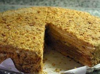 Lengvas medaus tortas