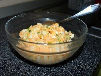 Kiaušinių ir sausų makaronų užtepas
