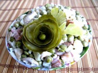 Rudeniškos salotos su vištiena