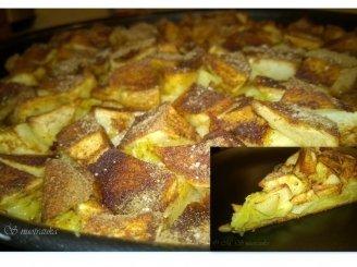 Dieviškas Naujųjų Metų obuolių pyragas
