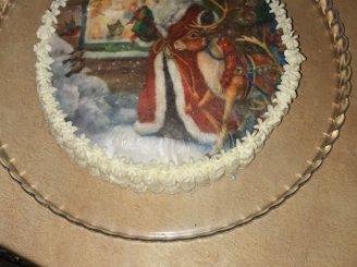 Persikinis biskvitinis tortas