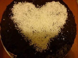 Širdelė šokolade