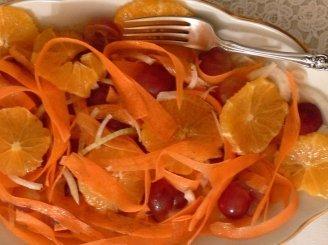 Marokietiškos morkų salotos