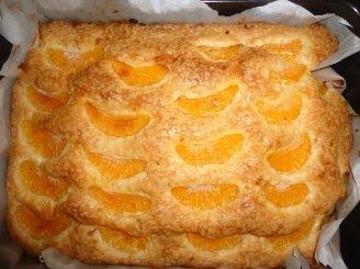 Lengvas mandarinų pyragas
