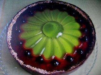 Biskvitinis tortas mamai su žele ir varške