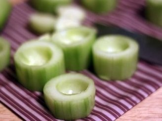 Vištiena įdaryti agurkai