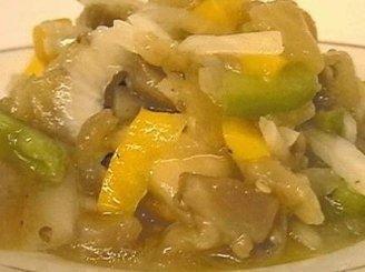 Baklažanų salotos korėjietiškai