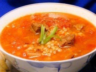 Jautienos-miežių sriuba