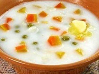 Pieniška šviežių daržovių sriuba