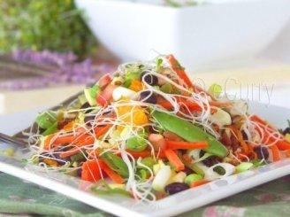 Vaisių salotos su pastarnokais