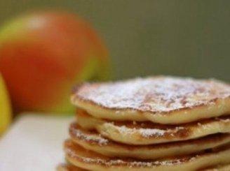Varškės sklindžiai su obuoliais