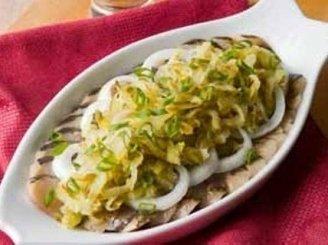 Silkė majonezo ir agurkų padaže