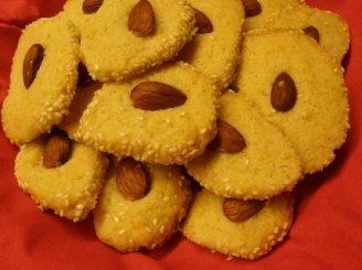 Trapūs sausainėliai su migdolais