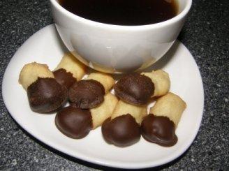 Trapūs sausainiai su šokoladu