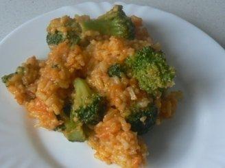 Plovas su brokoliais