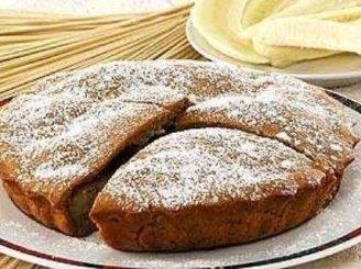 Pieniškos tešlos pyragas