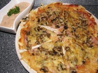 Naminė pica pagal Ramintą