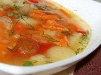Lašišos sriubytė