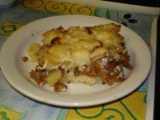 Bulvių ir mėsos faršo apkepas (Vitos)