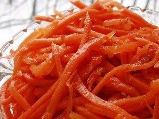 Lengviausias korėjietiškų morkų receptas