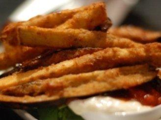 Baklažanų čipsai