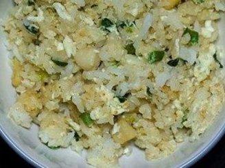 Kiniški ryžiai su kiaušiniais