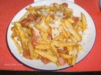 Polse Mix - dešrelių ir bulvyčių fri mix'as
