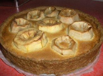 Obuolių pyragas iš nepjaustytų obuolių