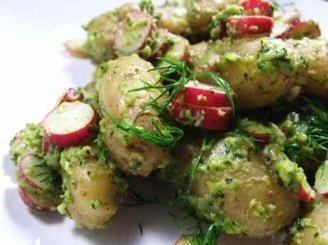 Jugoslaviškos bulvių salotos