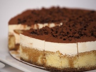 Tiramisu pyragas