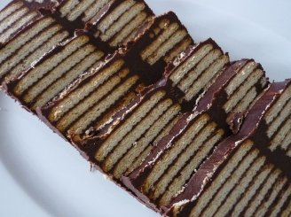 Šokoladinis sausainių pyragas