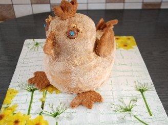 """Medaus tortas """"Velykinis viščiukas"""""""