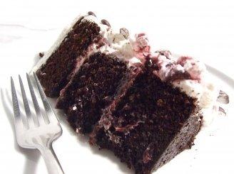 Šokoladinis tortas su vyšniomis ir mascarpone (Black Forest Cake)