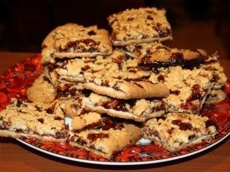 Sausainiai su avietėmis
