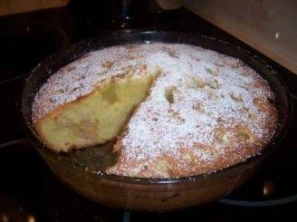 Jogurtinis pyragas su rabarbarais