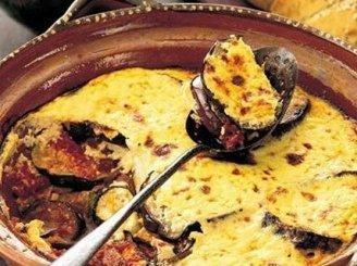 Baklažanų ir maltos mėsos apkepas