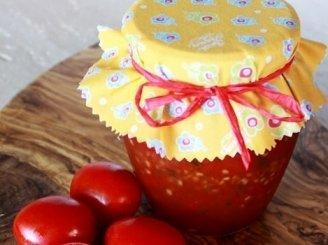 Pikantiškas pomidorų džemas