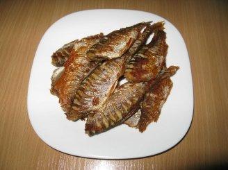 Tėvelio sugautos keptos žuvytės