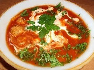 Daržovių sriuba su jautiena