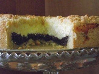 Varškės aguonų pyragas