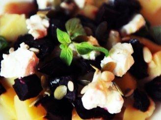 Burokėlių su feta salotos