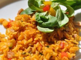 Vištiena su ryžiais ir daržovėm