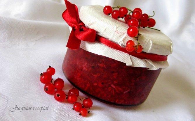 Raudonųjų serbentų padažas paukštienai žiemai