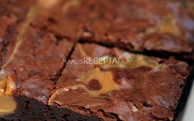 Skaniausias visatoje šokoladinis pyragas