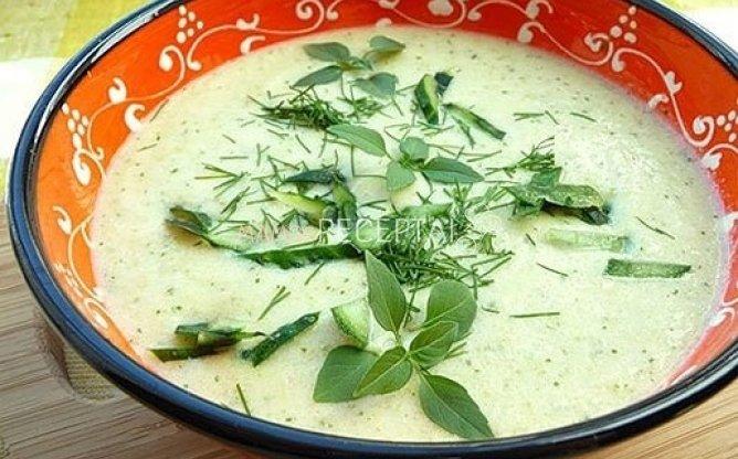Šparaginių pupelių sriuba