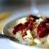 Spageti su džiovintais pomidorais ir sūriu