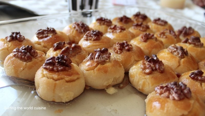 """Turkiškas desertas """"Sekerpare"""""""