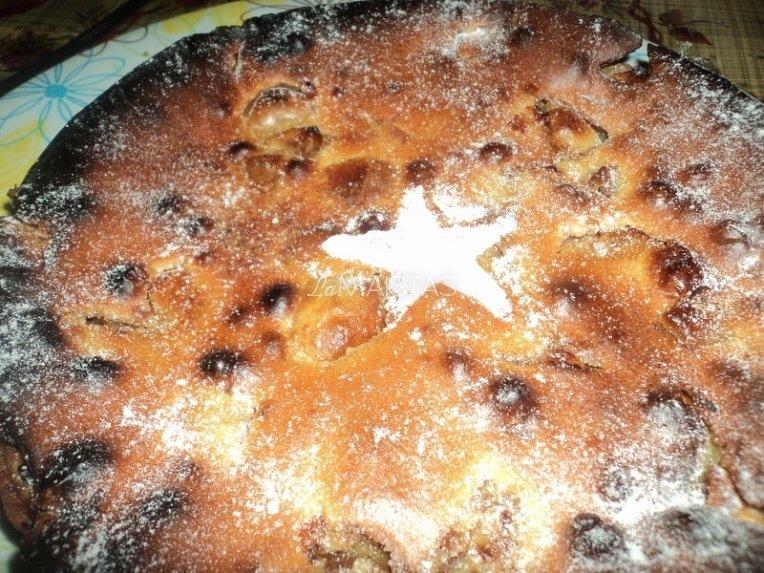 Greitas obuolių pyragas be sviesto
