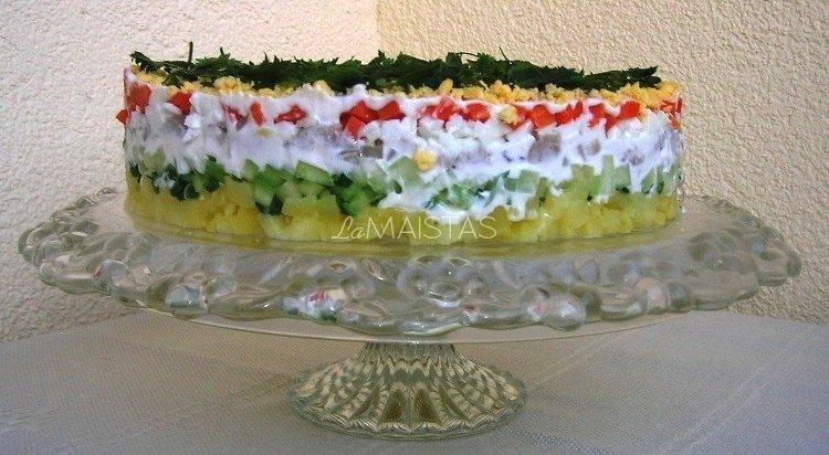 Šventinės baravykų salotos